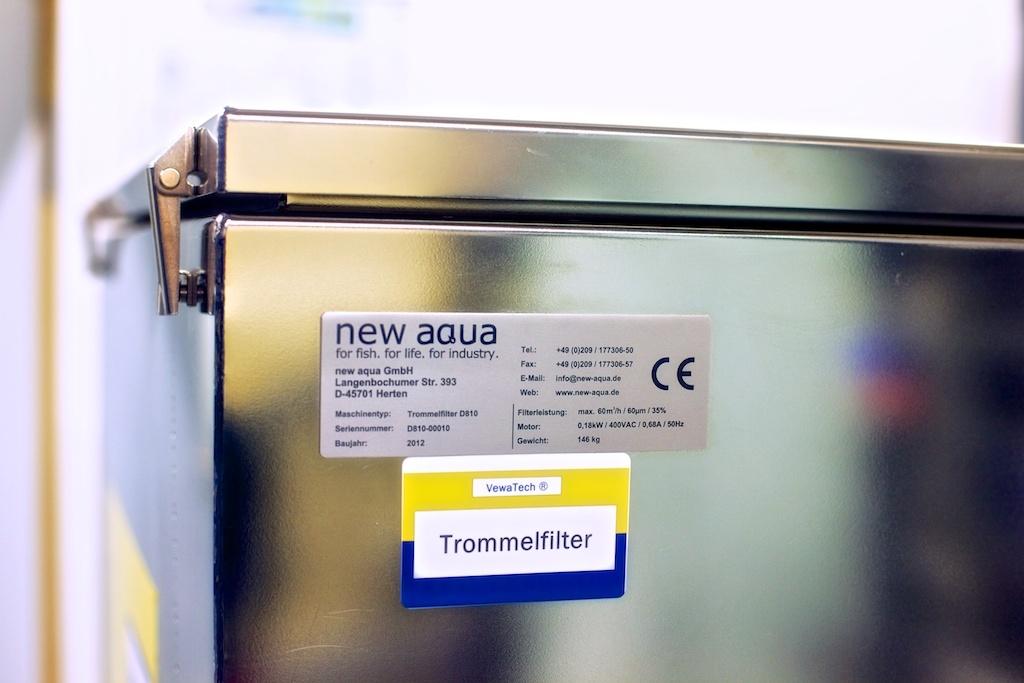 Museum für Naturkunde Dortmund - new aqua Trommelfilter D810