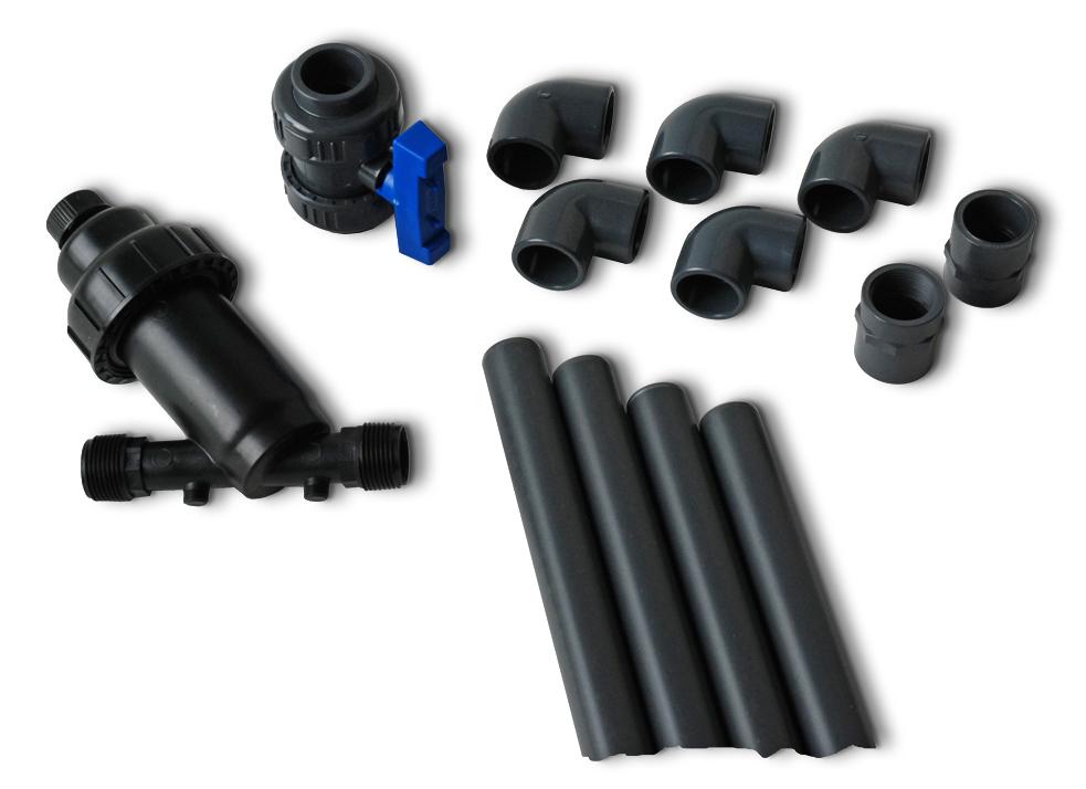 Anschluss-Set - PVC Anschluss-Set D500